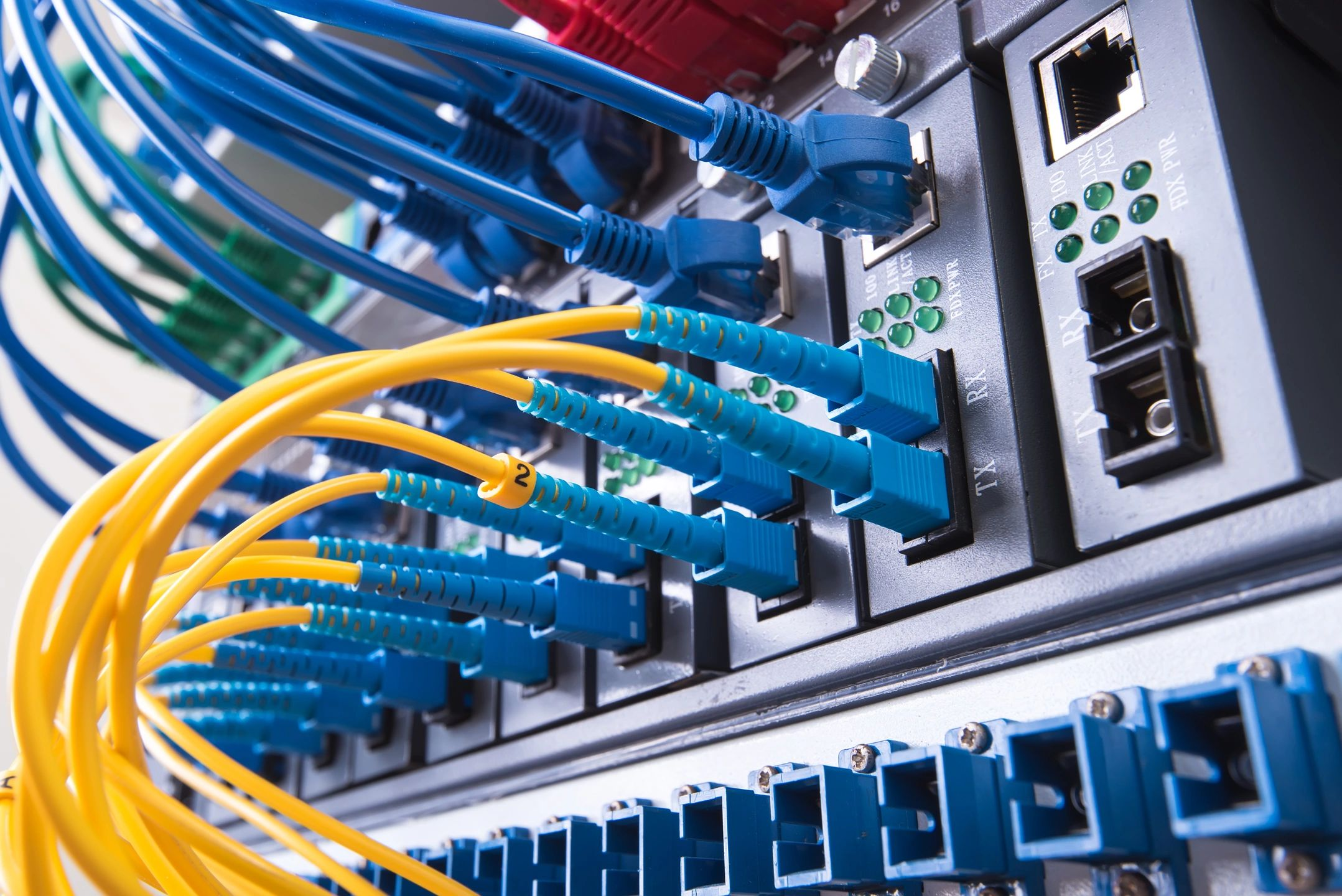 Cabling solutions at Fabre Technologies